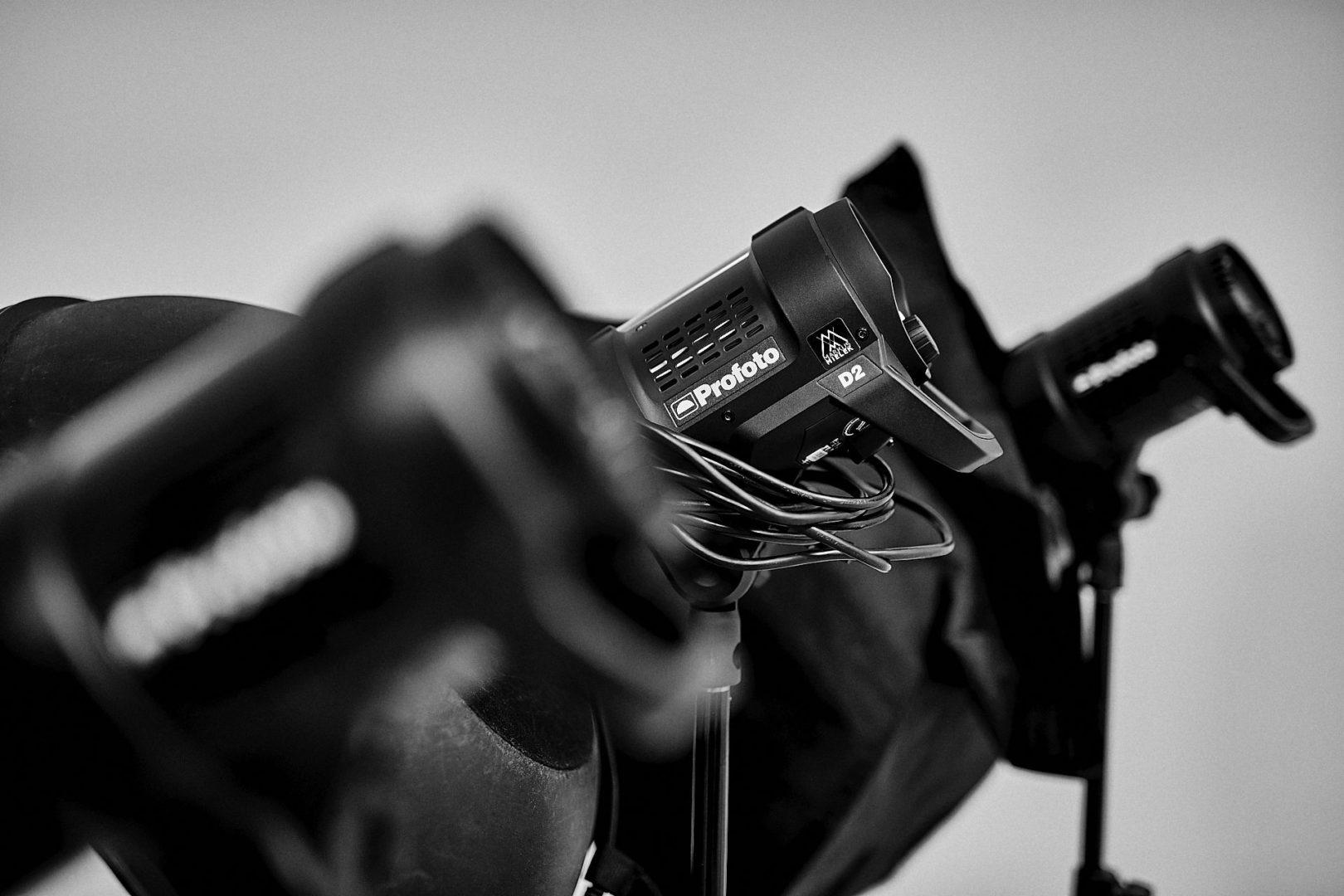 modernes Equipment stehen im Rent für Shootings zur Verfügung